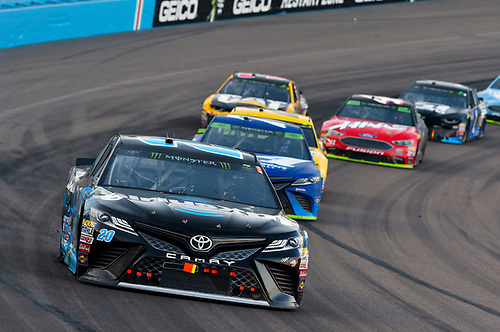 #20: Erik Jones, Joe Gibbs Racing, Toyota Camry Sirius XM