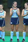 25 September 2016: North Carolina's Mackenzie Mick. The University of North Carolina Tar Heels hosted the Duke University Blue Devils at Francis E. Henry Stadium in Chapel Hill, North Carolina in a 2016 NCAA Division I Field Hockey match. UNC won the game 3-2.