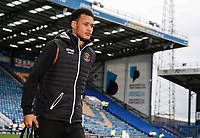 Blackpool's Christoffer Mafoumbi arriving at the stadium <br /> <br /> Photographer Andrew Kearns/CameraSport<br /> <br /> The EFL Sky Bet League One - Portsmouth v Blackpool - Saturday 12th January 2019 - Fratton Park - Portsmouth<br /> <br /> World Copyright © 2019 CameraSport. All rights reserved. 43 Linden Ave. Countesthorpe. Leicester. England. LE8 5PG - Tel: +44 (0) 116 277 4147 - admin@camerasport.com - www.camerasport.com