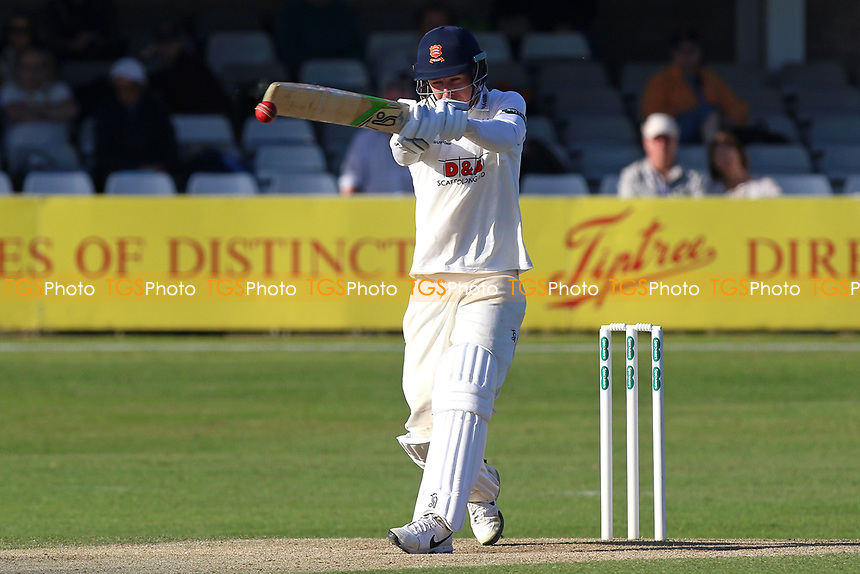 Daniel Lawrence in batting action for Essex during Essex CCC vs Lancashire CCC, Specsavers County Championship Division 1 Cricket at The Cloudfm County Ground on 9th April 2017