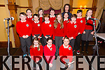 Corfheile na mBunscoileanna Eight Kerry schools are coming together for choir performances to celebrate seachtain na gaeilge at the Meadowlands Hotel on Thursday Pictured Scoil Naisiunta Doire Mhic Aodha