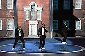 Boyz II Men performs at the 2016 Democratic National Convention held at the Wells Fargo Center in Philadelphia, Pennsylvania on Saturday, July 23, 2016.<br /> Credit: Ron Sachs / CNP<br /> (RESTRICTION: NO New York or New Jersey Newspapers or newspapers within a 75 mile radius of New York City)