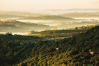 Byron Bay - Hinterland from above