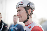 Tiesj Benoot (BEL/Lotto-Soudal) post-finish<br /> <br /> 103rd Ronde van Vlaanderen 2019<br /> One day race from Antwerp to Oudenaarde (BEL/270km)<br /> <br /> ©kramon