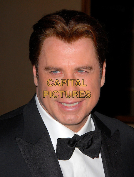JOHN TRAVOLTA.attends The G Day USA: Australia Week 2007 Penfolds Icon Black Tie Gala held at The Hyatt Regency Century Plaza in Century City, California, USA, January 13th 2007..portrait headshot bow tie.CAP/DVS .©Debbie VanStory/Capital Pictures