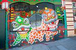 Dragon Mural in San Francisco