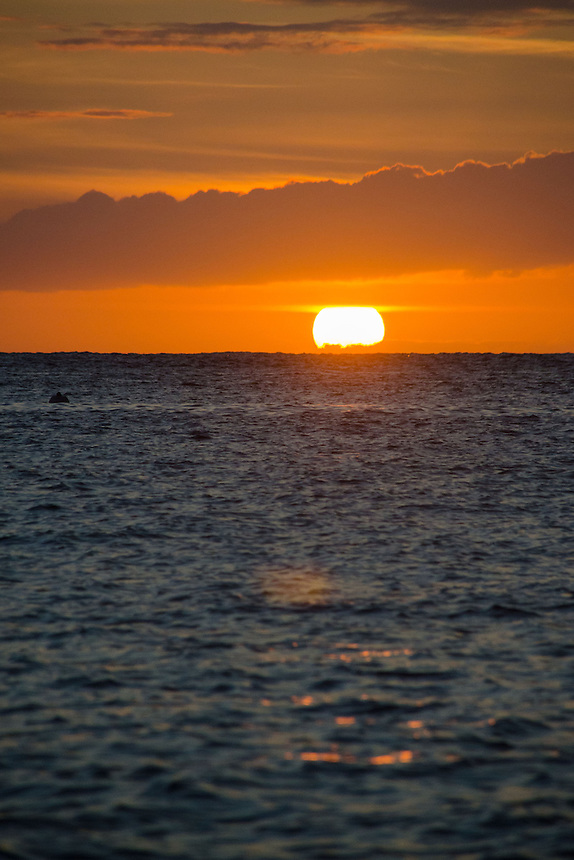 Sunset from Lahaina, Maui, Hawaii, US