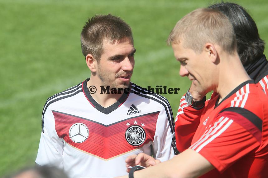 Philipp Lahm - Training der Deutschen Nationalmannschaft  zur WM-Vorbereitung in St. Martin