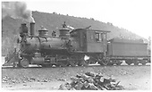 RGS 2-8-0 #15 in Dolores, CO.<br /> RGS  Dolores, CO  Taken by Perry, Otto C. - 5/30/1923
