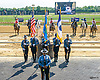 Delaware State Troopers color guard at Delaware Park on 9/10/16
