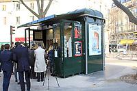 - Inauguration des nouveaux kiosques de presse parisien, 13/03/2017