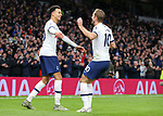 Tottenham's Dele Alli celebrates with Harry Kane after he scores to make it 2-0 during the Premier League match at the Tottenham Hotspur Stadium, London. Picture date: 30th November 2019. Picture credit should read: Paul Terry/Sportimage