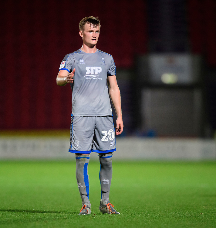 Lincoln City's Callum Connolly<br /> <br /> Photographer Chris Vaughan/CameraSport<br /> <br /> EFL Leasing.com Trophy - Northern Section - Group H - Doncaster Rovers v Lincoln City - Tuesday 3rd September 2019 - Keepmoat Stadium - Doncaster<br />  <br /> World Copyright © 2018 CameraSport. All rights reserved. 43 Linden Ave. Countesthorpe. Leicester. England. LE8 5PG - Tel: +44 (0) 116 277 4147 - admin@camerasport.com - www.camerasport.com