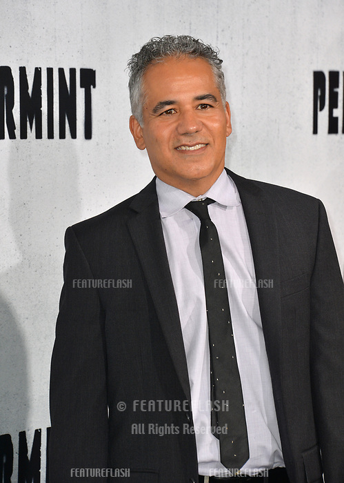 "LOS ANGELES, CA. August 28, 2018: John Ortiz at the world premiere of ""Peppermint"" at the Regal LA Live."
