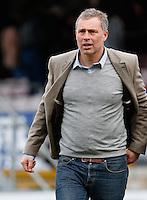 Manager Wayne Burnett Sacked from Dagenham & Redbridge on 21 December 2015. Photo by Andy Rowland.