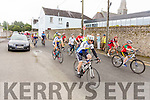 At the Start of the Castleisland Day Care Centre Charity Cycle conjunction with Currow Cycling Club on Sunday were