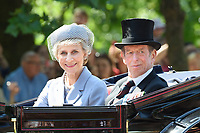 Duke Gloucester and Duke of Kent<br /> during Trooping the Colour on The Mall, London. <br /> <br /> <br /> &copy;Ash Knotek  D3283  17/06/2017