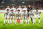 Shanghai SIPG squad pose for team photo during the AFC Champions League 2017 Quarter-Finals match between Guangzhou Evergrande (CHN) vs Shanghai SIPG (CHN) at the Tianhe Stadium on 12 September 2017 in Guangzhou, China. Photo by Marcio Rodrigo Machado / Power Sport Images