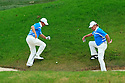 MIGUEL ANGEL JIMENEZ of the European Ryder Cup Team & GRAEME McDOWELL of the European Ryder Cup Team during the saturday foursomes of the 37th Ryder Cup Matches, September 16 - 21, 2008 played at Valhalla Golf Club, Louisville, Kentucky, USA ( Picture by Phil Inglis ).... ......