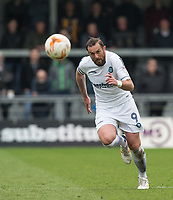 Paul Hayes of Wycombe Wanderers during the Sky Bet League 2 match between Barnet and Wycombe Wanderers at The Hive, London, England on 17 April 2017. Photo by Andy Rowland.