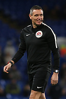 Match referee, Andre Marriner, in a relaxed mood pre-match during Chelsea vs Hull City, Emirates FA Cup Football at Stamford Bridge on 16th February 2018