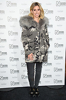Stacey Solomon arriving for the Natural History Museum Ice Rink launch party 2017, London, UK. <br /> 25 October  2017<br /> Picture: Steve Vas/Featureflash/SilverHub 0208 004 5359 sales@silverhubmedia.com