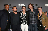 BEVERLY HILLS, CA - AUGUST 4: David Ramsey, Misha Collins, Jensen Ackles, Jared Padalecki, Alexander Calvert, at The CW's Summer TCA All-Star Party at The Beverly Hilton Hotel in Beverly Hills, California on August 4, 2019. <br /> CAP/MPI/FS<br /> ©FS/MPI/Capital Pictures