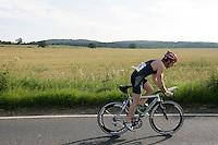08 JUL 2007 - WAKEFIELD, GBR - John Curley - British Age Group Triathlon Championships. (PHOTO (C) NIGEL FARROW)