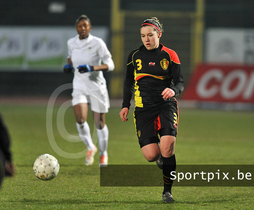 France U19 - Belgium U19 : Elien Van Wynendaele.foto DAVID CATRY / Nikonpro.be