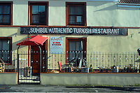 COPY BY TOM BEDFORD MEDIA<br /> Pictured: Sumbul Turkish restaurant, one of the take aways near the new house of Georgia Davis.<br /> Re: Britain's fattest woman has had a house specially built for her - within half a mile of 13 takeaway restaurants.<br /> Sixty-stone Georgia Davis, 22, was given the £150,000 property because she no longer fits in her own home.<br /> It has a double front door and all internal corridors and rooms have been specially designed to accommodate her size. <br /> Georgia is nicknamed the Takeaway Princess by friends because she lives on pizzas, kebabs and chips.<br /> But she has been rehomed in the middle of a glut of restaurants waiting to deliver her favourite food.