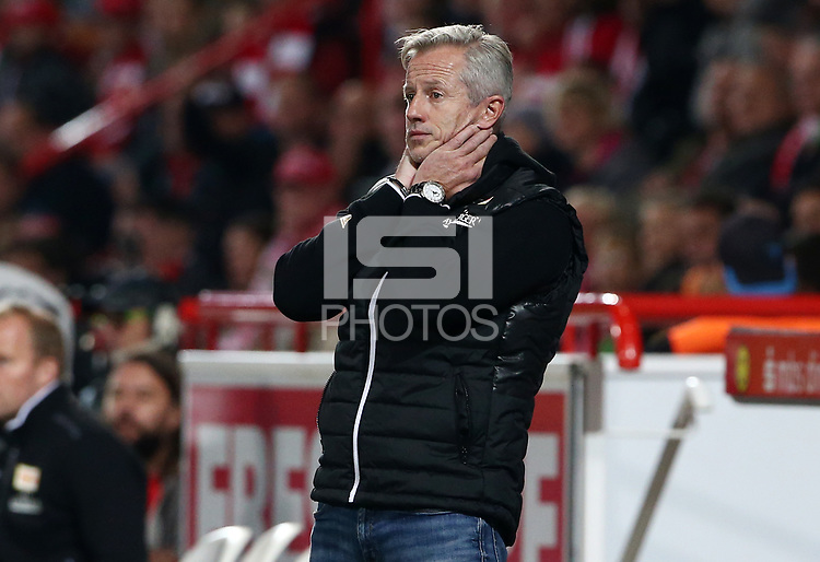 Trainer Jens Keller       <br /> / Sport / Football Football / zweite 2.Bundesliga  DFL /  2017/2018 / 15.09.2017 / 1.FC Union Berlin FCU vs. BTSV Eintracht Braunschweig 170915050 /      <br />     *** Local Caption *** &copy; pixathlon<br /> Contact: +49-40-22 63 02 60 , info@pixathlon.de