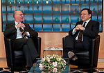 Brussels-Belgium - February 01, 2012 -- Visit to Brussels by Prof. Dr. Norbert LAMMERT (le), President / Speaker of the German Parliament (Deutscher Bundestag); here, meeting with José (Jose) Manuel BARROSO (ri), President of the European Commission -- Photo: © HorstWagner.eu