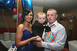 Ian Clarke with girlfriend Sonya and son Keagan at his 21st in the Rugby Club....Photo NEWSFILE/Jenny Matthews.(Photo credit should read Jenny Matthews/NEWSFILE)....This Picture has been sent you under the condtions enclosed by:.Newsfile Ltd..The Studio,.Millmount Abbey,.Drogheda,.Co Meath..Ireland..Tel: +353(0)41-9871240.Fax: +353(0)41-9871260.GSM: +353(0)86-2500958.email: pictures@newsfile.ie.www.newsfile.ie.FTP: 193.120.102.198.