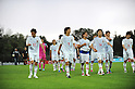 Japan team group (JPN),.MAY 25, 2012 - Football / Soccer :.(L-R) Kota Mizunuma, Yuki Otsu, Yusuke Higa, Kazuki Oiwa, Daisuke Suzuki and Yuya Okako of Japan walk off the pitch after the 2012 Toulon Tournament Group A match between U-23 Japan 3-2 U-21 Netherlands at Stade de l'Esterel in Saint-Raphael, France. (Photo by FAR EAST PRESS/AFLO)