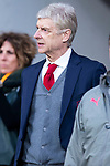 Arsenal FC coach Arsene Wendger during Europa League Semi Finals First Leg match between Atletico de Madrid and Arsenal FC at Wanda Metropolitano in Madrid, Spain. May 03, 2018.  (ALTERPHOTOS/Borja B.Hojas)