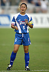 11 June 2003: Tiffany Roberts. The Carolina Courage defeated the Washington Freedom 3-0 at SAS Stadium in Cary, NC in a regular season WUSA game.