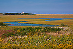 Nauset Marsh in Cape Cod National Seashore, Eastham, MA, USA