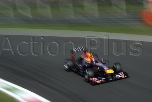 07.09.2013. Monza, Lombardy, Italy. F1 grand prix of Italy. Qualification day.  POLE POSITION FOR GERMAN SEBASTIAN VETTEL of REDBULL RENAULT RB9.