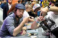 FOX FAN FAIR AT SAN DIEGO COMIC-CON© 2019: BLESS THE HARTS Cast Member Ike Barinholtz during the BLESS THE HARTS booth Signing on Friday, July 19 at the FOX FAN FAIR AT SAN DIEGO COMIC-CON© 2019. CR: Alan Hess/FOX © 2019 FOX MEDIA LLC