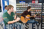 Brian McFadden who was in Roxy Records, The Square, Tralee on Monday evening to promote his new single.
