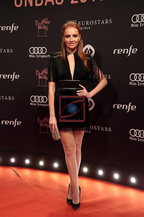 63 Premios Ondas.<br /> Photocall-Gala entrega de Premios.<br /> Cristina Casta&ntilde;o.