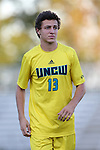 15 September 2015: UNCW's Kalvin Kromer. The Duke University Blue Devils hosted the University of North Carolina Wilmington Seahawks at Koskinen Stadium in Durham, NC in a 2015 NCAA Division I Men's Soccer match. UNCW won the game 3-0.