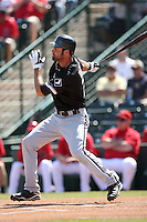 Jordan Danks, Chicago White Sox 2010 spring training..Photo by:  Bill Mitchell/Four Seam Images.