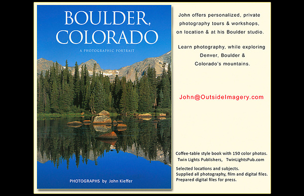 John's 4th photo book. &quot;Boulder, Colorado: A Photographic Portrait.&quot; <br />