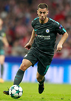 Chelsea FC's Eden Hazard during Champions League 2017/2018, Group C, match 2. September 27,2017. (ALTERPHOTOS/Acero)<br /> Champions League 2017/2018 <br /> Atletico Madrid - Chelsea <br /> Foto Alterphotos / Insidefoto