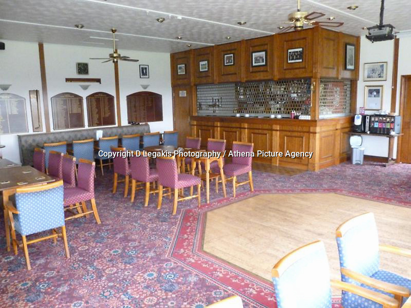 """Pictured: The restaurant and bar area of Palleg Golf Club in Lower Cwmtwrch near Swansea, Wales, UK STOCK PICTURE<br /> Re: Bosses of the Celtic Manor, where the Ryder Cup and the NATO summit were held, are threatening legal action against a village club in Swansea changing its name to Celtic Minor.<br /> Palleg golf club was renamed Celtic Minor by businessman owner John Adams to attract more members.<br /> But a spokesman for Celtic Manor warned they will fight """"any attempt to take unfair advantage of their reputation"""".<br /> Celtic Minor said """"there wasn't any issue"""" with the name change.<br /> Club manager Melanie Eaton said the name change """"works in their favour."""""""