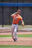Houston Astros Stijn van der Meer (68) during a minor league Spring Training game against the Washington Nationals on March 28, 2017 at the FITTEAM Ballpark of the Palm Beaches in West Palm Beach, Florida.  (Mike Janes/Four Seam Images)
