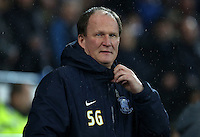 Preston North End manager Simon Grayson prior to kick off of the Sky Bet Championship match between Cardiff City and Preston North End at Cardiff City Stadium, Wales, UK. Tuesday 31 January 2017