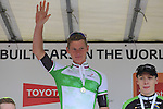 19 year old Ryan Mullen (An Post Chain Reaction) wins the Irish National Men's Elite Road Race Championships held over an undulating course featuring 9 laps centered in the village of Multyfarnham, Co.Westmeath, Ireland. 29th June 2014.<br /> Picture: Eoin Clarke www.newsfile.ie
