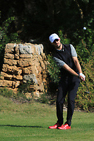 Will Besseling (NED) on the 4th during Round 3 of the Challenge Tour Grand Final 2019 at Club de Golf Alcanada, Port d'Alcúdia, Mallorca, Spain on Saturday 9th November 2019.<br /> Picture:  Thos Caffrey / Golffile<br /> <br /> All photo usage must carry mandatory copyright credit (© Golffile | Thos Caffrey)